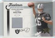 2005 Leaf Rookies And Stars Class Officers /100 Andrew Walter Fo-3 Rookie