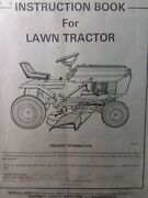 Murray Lawn Mower Tractor 938600 Owner And Parts And Tecumseh Engine Op 2 Manual S