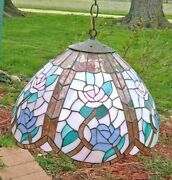 Meyda Hanging Lamp Floral Design See Photos For Dimensions