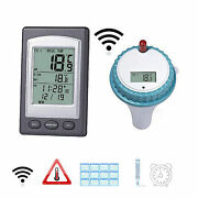 Floating Pool Thermometer Wireless Channel Swimming Pool Tub Temperature Gauge