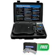 Mastercool 98210atg Accu-charge Ii Electronic Refrigerant Scale W/infrared Therm