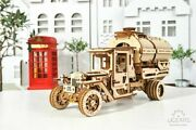 Ugears Tanker Mechanical Model Kit Wooden 3d Puzzle Eco-friendly Toy 70021