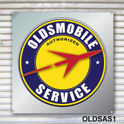 Oldsmobile Authorized Service Banner Sign
