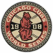 Chicago Cubs 1908 Mlb Patch 4 Vintage Classic Embroidered Iron-on Sew-on