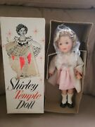Vintage 1959 Ideal Shirley Temple Doll St-12 Sleep Eyes Open Mouth W/teeth And Box