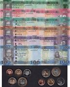 South Sudan Notes And Coins Set 10 Piastres-2pounds 1 To 100 Pounds 2015 Unc