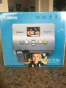 Canon Selphy Cp780 Digital Photo Thermal Printer Compact Photo