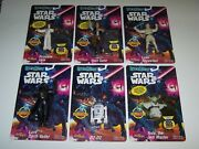 Star Wars Bendems Collectible 8 Action Figures Noc