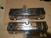 1979-1995 Ford Mustang 5.0l Ford Racing Valve Covers 302 Efi Gt40 Cobra Chrome
