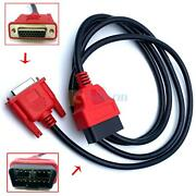 6' Obdii Obd2 Cable Compatible With Snap On Da-4 Eesc318 For Solus Ultra Scanner