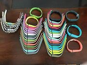 Lot Of 53 Fitbit Flex Band Replacement Wrist Bands Wristband W/ Clasps    A4