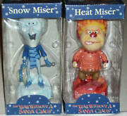 Bobble Head Knocker Rankin Bass The Year Without A Santa Claus Xmas Gift Clause