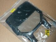 Yamaha Yz Wr Yzf 125 250 400 426 450 2000-2005 Nos Vented Carbon Front Plate