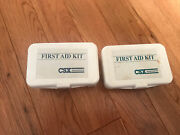 2 Vintage Csx Railroad First Aid Kits One Is Sealed And One Is Not Sealed