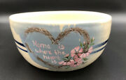 Vintage Master Potter Kenneth Wingo Home Is Where The Heart Is Bowl