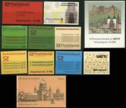 Germany Deutsche Bundespost Booklet Postage Europe Stamp Collection Mint Nh