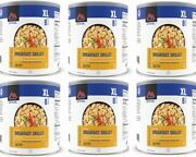 Mountain House Breakfast Skillet Freeze Dried Food Lot Of 6 Cans New