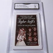 Taylor Swifts Little Blacklisted Book 2017 Wacky Packages Sepia Sticker Graded 9