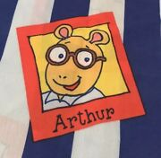 One Window Panel Curtain From Arthur Book Series Marc Brown Fabric Small Flaw