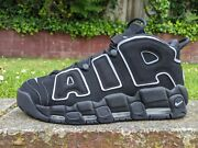 Ds Nike Air More Uptempo Pippen Black Sz 12 Bulls Dunk Max Penny Acg 90 95