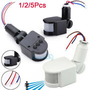 180° Led Outdoor Security Pir Infrared Motion Sensor Detector Switch Wall Us