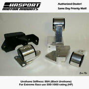 Hasport Mounts 1984-1987 For Civic/crx D-series Hydro Trans Mount Kit - Afd2-88a