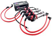 Mazda Rx-8 Rx8 D585 Ignition Coil Kit 10mm Wires W/ Harness And Mounting Bracket