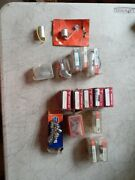 Lot Of Ignition Parts Points Condenser And Rotors 17 Pieces Mostly British Cars
