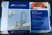 Glacier Bay Newbury Singlehandle Bar Faucet In Brushed Nickel With Soap Dispensr