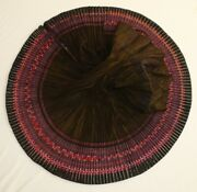 Tribal Chinese Ethnic Miao Peopleand039 Old Hand Embroidery Local Cloth Pleated Skirt