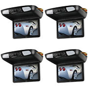 Boss Flip Down 10.1inch Monitor Screen Dvd Cd Sd Mp3 Player W/ Remote 4 Pack