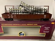 ✅mth Premier Nyc Gondola Car And Switch Load 20-95136 New Crane Mow York Central