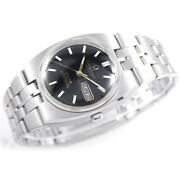Vintage Omega Constellation Chronometer Automatic Day Date Black Dial Gold Watch