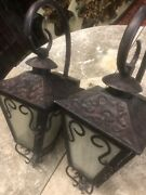 Spanish Revival Reproduction Lanterns Outdoor Lights