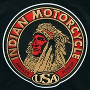 🏍️9 Indian Motorcycle Head Logo Iron-on Patch-for Leather/vest/sweater/shirt
