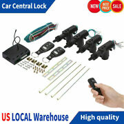 4 Door Power Central Lock Kit W/ 2 Keyless Entry Remote Control Conversion New.