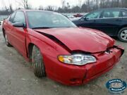 2004 Chevy Monte Carlo 3.29 Axle Ratio Fr9 Automatic Transmission Only 296510