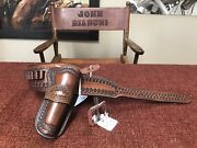 Deluxe | Bianchi | Gun Belt And Holster | .45 | S.a. | 4 3/4 Bbl | 37-38andrdquo Hip