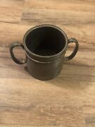 Antique Roger Smith And Co. Quadruple Silver-plate Cup.