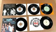 """Lot Of 5 Boxer 7"""" 45 Rpm Vinyl Records Patto Timebox Halsall"""