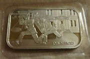 Amw Americas Most Wanted John Dillinger Silver Proof Bar Cmg Mint Bl