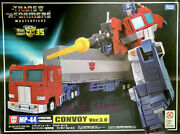 Transformers Takara Tomy Masterpiece Mp44 Mp-44 Convoy Ver 3.0 Action Figure Toy