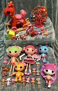 Huge Lot Of Lalaloopsy Dolls And Accessories Toys Lot