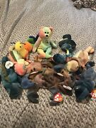 Offers Considered Babies Lot Multicolored Tie Dyed Rare Peace Bear Rainbow