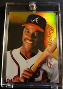1996 Fred Mcgriff Select Certified Mirror Gold 66 Braves 30 Made 4889