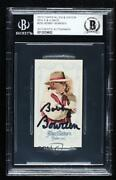 2013 Topps Allen And Ginterand039s Mini Ginter Back Bobby Bowden 255 Auto Rookie