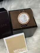 Mk5491 Ladies Watch - Mother Of Pearl/rose Gold Plated