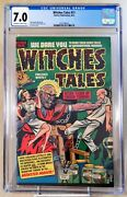 Witches Tales 1951 11 Cgc 7.0 Harvey Pre Code Horror