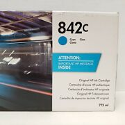 Hp 842c Cyan Ink Cartridge For Page Wide Xl 8000 775ml  C1q54a