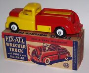 Fix-all Wrecker Truck With Tools And Equipment For A Real Mechanic Rare Mib Marx